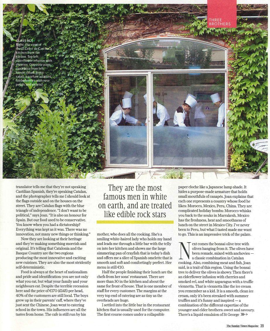 130714 - Sunday Times Magazine Page 2