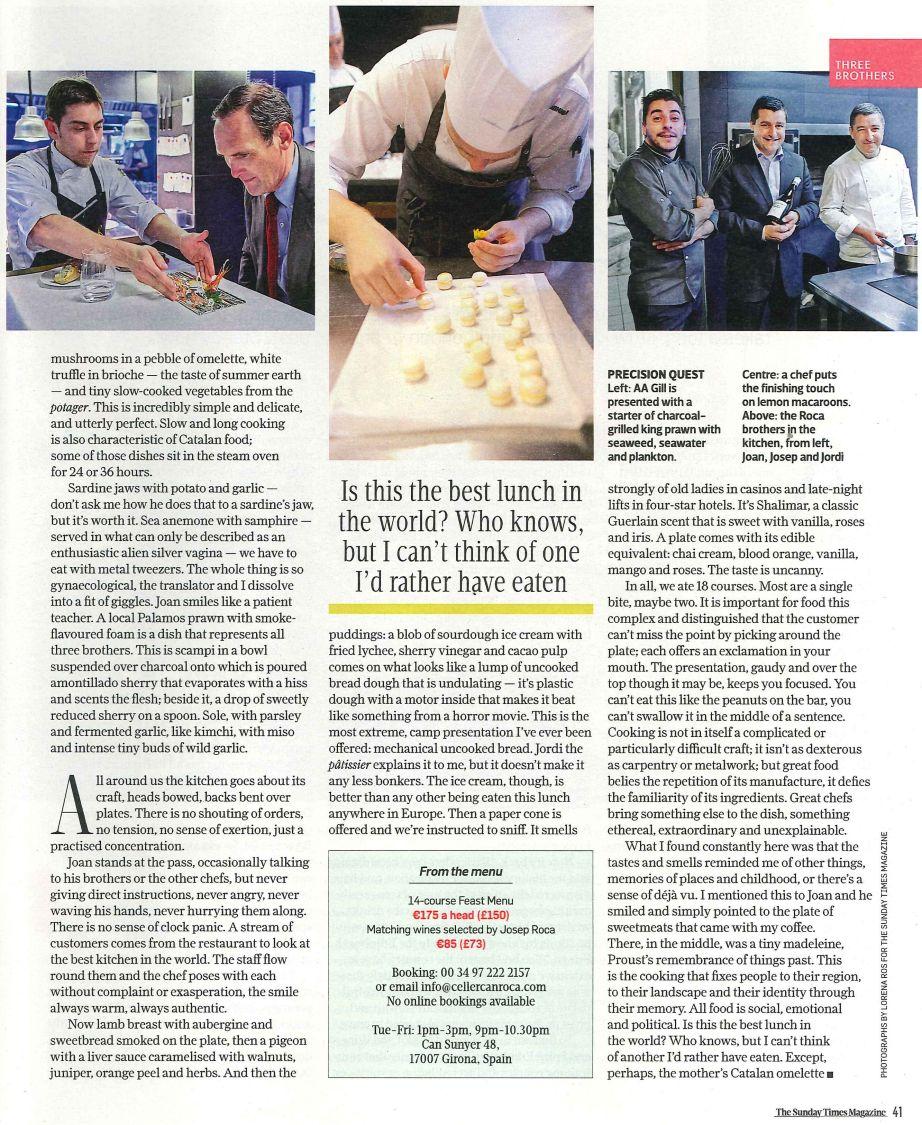 130714 - Sunday Times Magazine Page 3